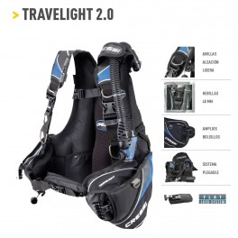 Chaleco Cressi Travelight 2.0  &  Travelight Lady 2.0