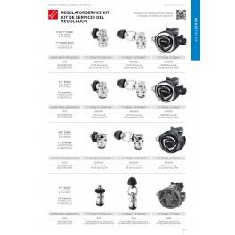 Reguladores Seac Kit de Mantenimiento